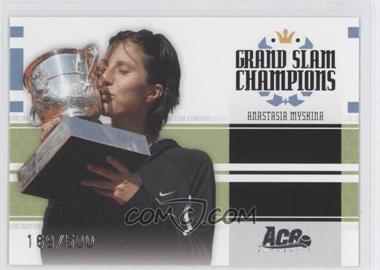 2005 Ace Authentic Signature Series Grand Slam Champions #GS-7 - Anastasia Myskina /500