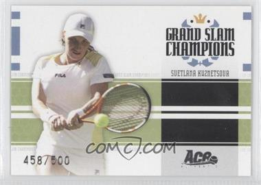 2005 Ace Authentic Signature Series Grand Slam Champions #GS-9 - [Missing] /500