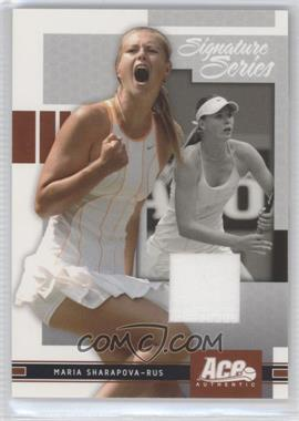 2005 Ace Authentic Signature Series Promo #AA-PROMO - Maria Sharapova