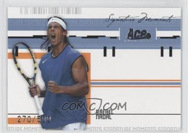 2005 Ace Authentic Signature Series Signature Moments #SM-5 - Rafael Nadal /500