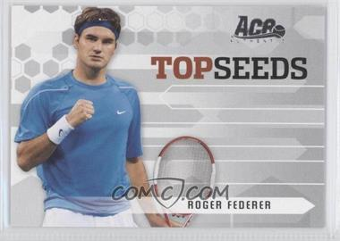 2006 Ace Authentic Grand Slam Top Seeds #TS-3 - Roger Federer