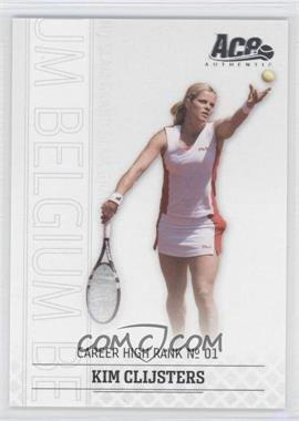2006 Ace Authentic Grand Slam #10 - Kim Clijsters /1199