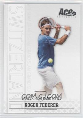 2006 Ace Authentic Grand Slam #18 - Roger Federer /1199