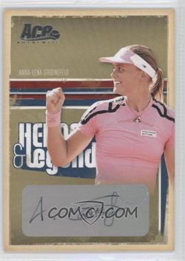 2006 Ace Authentics Heroes & Legends - [Base] - Autographs [Autographed] #30 - Anna-Lena Groenefeld /100