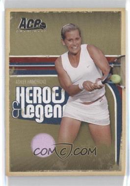 2006 Ace Authentics Heroes & Legends - [Base] - Materials [Memorabilia] #34 - Ashley Harkleroad /500