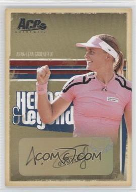 2006 Ace Authentics Heroes & Legends Autographs [Autographed] #30 - Anna-Lena Groenefeld /100