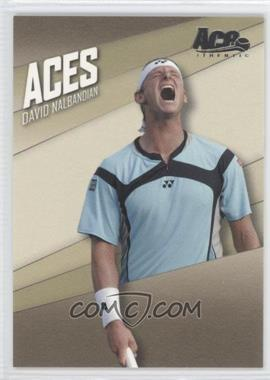 2007 Ace Authentic Straight Sets - Aces #AC-6 - David Nalbandian