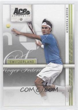 2007 Ace Authentic Straight Sets - [Base] - Bronze #34 - Roger Federer