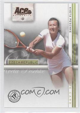 2007 Ace Authentic Straight Sets - [Base] - Bronze #42 - Kveta Peschke
