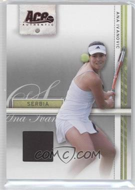 2007 Ace Authentic Straight Sets - [Base] - Materials #3 - Ana Ivanovic