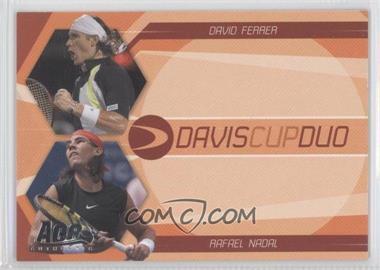 2007 Ace Authentic Straight Sets - Davis Cup Duos #DC-2 - David Ferrer, Rafael Nadal