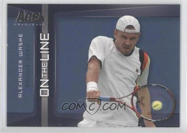 2007 Ace Authentic Straight Sets - On the Line #OL-17 - Alexander Waske