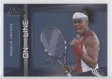 2007 Ace Authentic Straight Sets - On the Line #OL-2 - Angela Haynes