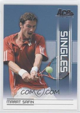 2007 Ace Authentic Straight Sets - Singles #SI-17 - Marat Safin
