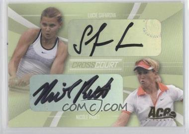 2007 Ace Authentic Straight Sets [???] #CC-6 - Lucie Safarova, Nicole Pratt /208