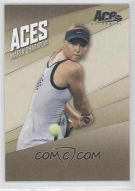 2007 Ace Authentic Straight Sets Aces #AC-1 - Maria Sharapova