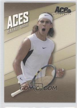 2007 Ace Authentic Straight Sets Aces #AC-5 - Rafael Nadal