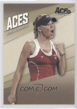 2007 Ace Authentic Straight Sets Aces #AC-8 - Anna Kournikova