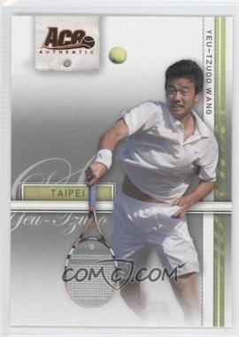 2007 Ace Authentic Straight Sets Bronze #28 - Yeu-Tzuoo Wang