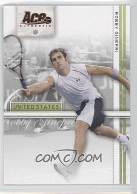 2007 Ace Authentic Straight Sets Bronze #33 - Robby Ginepri