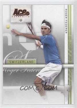 2007 Ace Authentic Straight Sets Bronze #34 - [Missing]