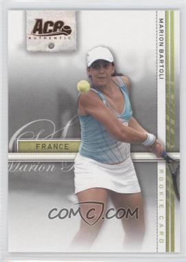 2007 Ace Authentic Straight Sets Bronze #35 - Marion Bartoli