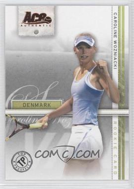 2007 Ace Authentic Straight Sets Bronze #39 - Caroline Wozniacki