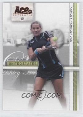 2007 Ace Authentic Straight Sets Bronze #6 - Ashley Harkleroad