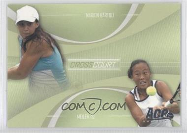 2007 Ace Authentic Straight Sets Cross Court #CC-4 - [Missing]