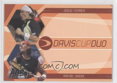 2007 Ace Authentic Straight Sets Davis Cup Duos #DC-2 - David Ferrer, Rafael Nadal