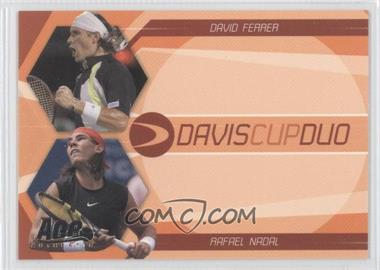 2007 Ace Authentic Straight Sets Davis Cup Duos #DC-2 - David Ferrer, Rafael Nadal