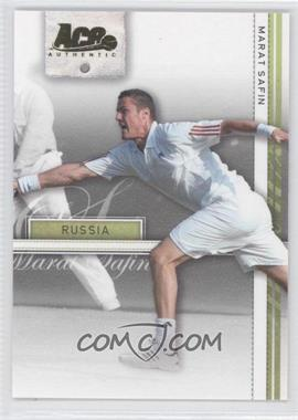 2007 Ace Authentic Straight Sets Gold #22 - Marat Safin /25