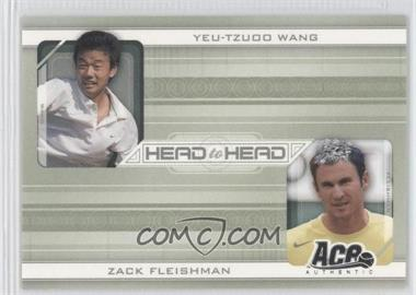 2007 Ace Authentic Straight Sets Head to Head #HH-4 - [Missing]