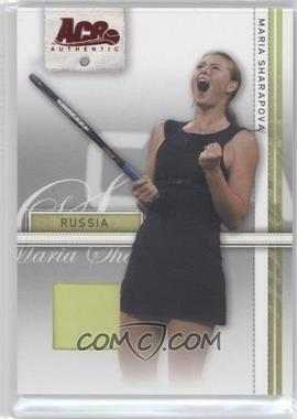 2007 Ace Authentic Straight Sets Materials #24 - Maria Sharapova