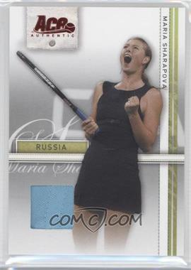 2007 Ace Authentic Straight Sets Materials #24 - Maria Sharapova