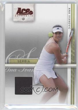 2007 Ace Authentic Straight Sets Materials #3 - [Missing]
