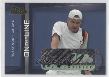 2007 Ace Authentic Straight Sets On the Line Autographs [Autographed] #OL-17 - [Missing]