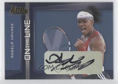 2007 Ace Authentic Straight Sets On the Line Autographs [Autographed] #OL-2 - [Missing]
