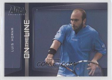 2007 Ace Authentic Straight Sets On the Line #OL-19 - Luis Horna