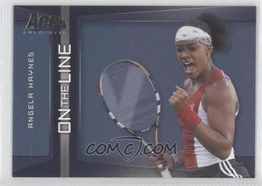 2007 Ace Authentic Straight Sets On the Line #OL-2 - Angela Haynes