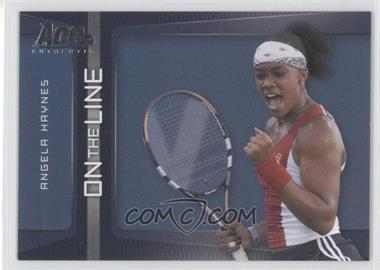 2007 Ace Authentic Straight Sets On the Line #OL-2 - Angela Haynes