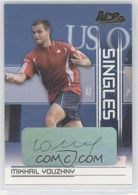 2007 Ace Authentic Straight Sets Singles Autographs [Autographed] #SI-18 - Mikhail Youzhny
