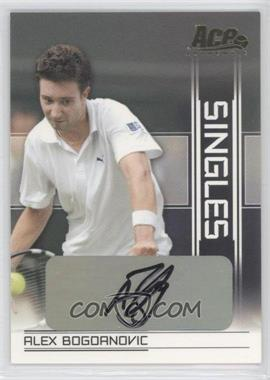 2007 Ace Authentic Straight Sets Singles Autographs [Autographed] #SI-4 - [Missing]