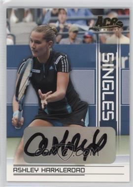 2007 Ace Authentic Straight Sets Singles Autographs [Autographed] #SI-6 - Ashley Harkleroad
