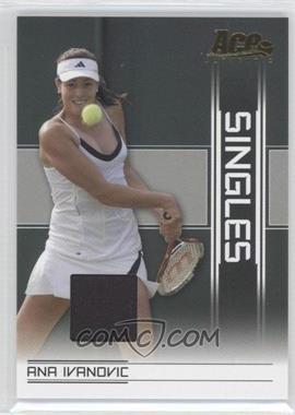 2007 Ace Authentic Straight Sets Singles Materials [Memorabilia] #SI-2 - Ana Ivanovic