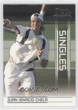 2007 Ace Authentic Straight Sets Singles #SI-10 - Juan Ignacio Chela