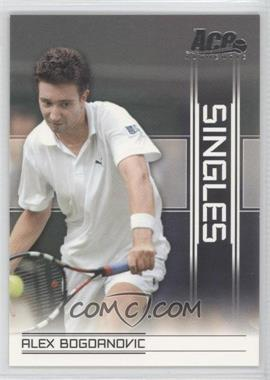 2007 Ace Authentic Straight Sets Singles #SI-4 - Alex Bogdanovic