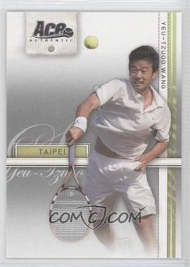 2007 Ace Authentic Straight Sets #28 - Yeu-Tzuoo Wang