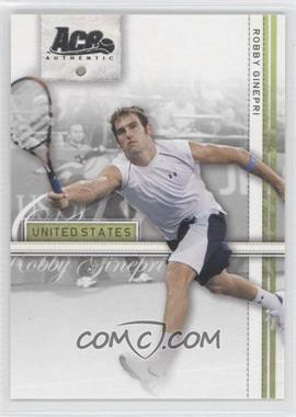 2007 Ace Authentic Straight Sets #33 - Robby Ginepri