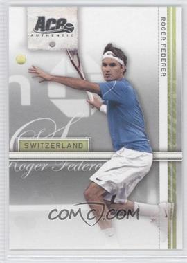 2007 Ace Authentic Straight Sets #34 - Roger Federer